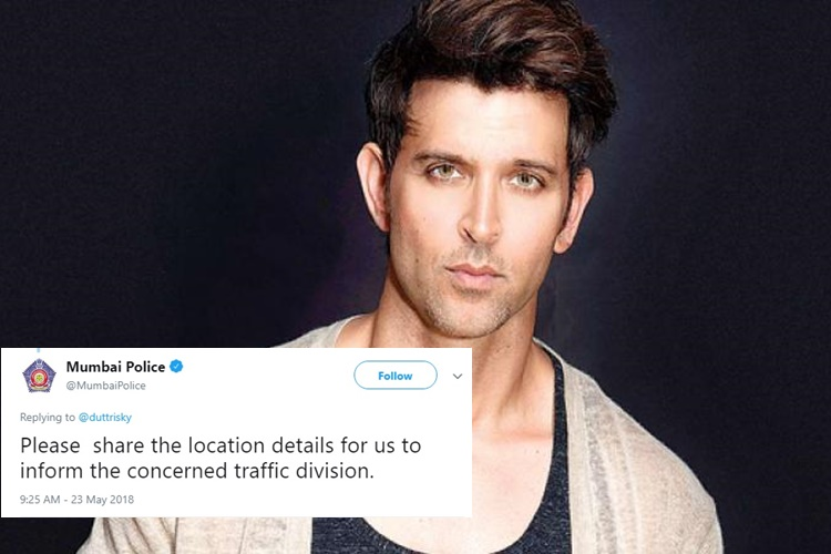 Hrithik Roshan's Vlog For Sports Minister's Fitness Challenge Gets A Response From Mumbai Police