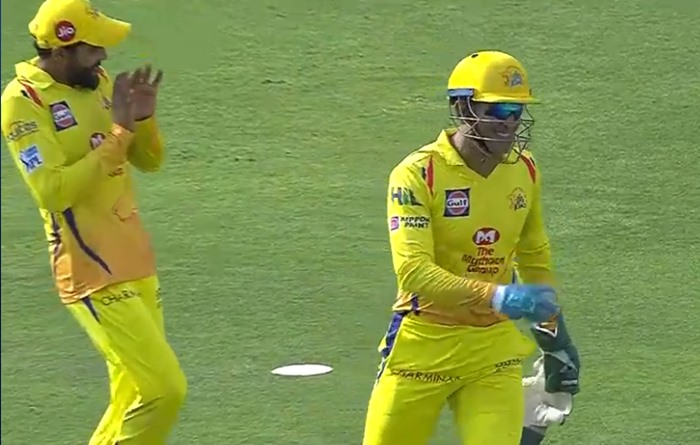 When MS Dhoni Scared Ravindra Jadeja During IPL Match Number 46 against Sunrisers Hyderabad