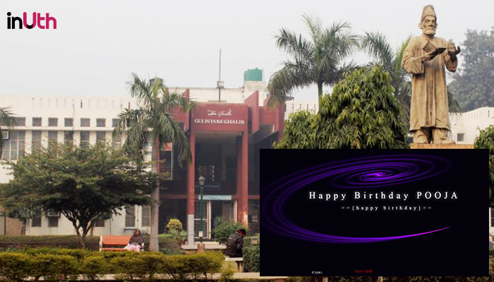 'Happy Birthday Pooja'. Jamia Univ Site Hack Is Taking Cyber-Stalking To A New Level
