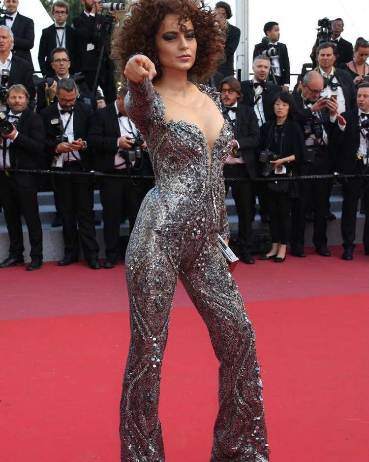 Kangana Ranaut at Cannes 2018