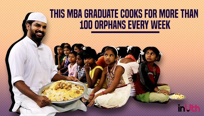 This MBA Graduate Cooks For More Than 100 Orphans Every Week