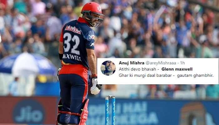 IPL 2018: 'Biggest Flop Of IPL 2018 Is Glenn Maxwell', Twitterati Troll Aussie For Poor Season