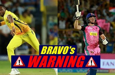 IPL 2018: DJ Bravo 'Warns' Jos Buttler After Losing To RR. Here's What He Said