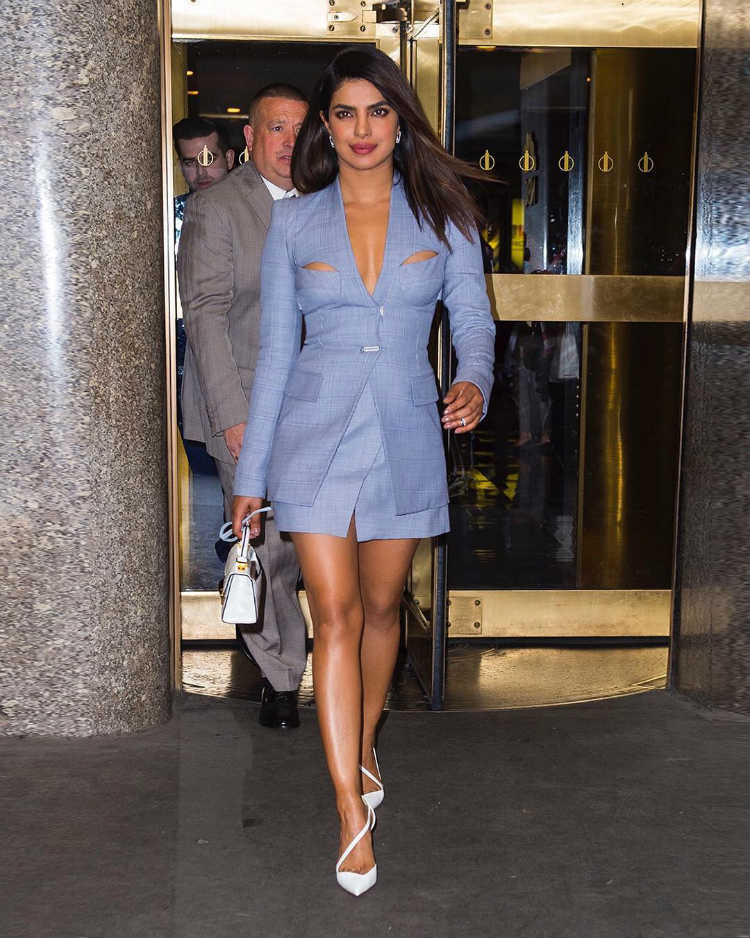 Priyanka Chopra for Late Night with Seth Meyers