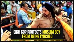 Sikh Cop Protects Muslim Boy From Being Lynched In Uttarakhand