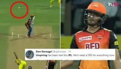 IPL 2018: Umpire Marais Erasmus Robs SRH Of A No-Ball, Leaves Shakib Al Hasan Frustrated — Watch