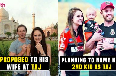 IPL 2018: AB de Villiers Wishes To Name His 2nd Child As 'Taj' in Future — Watch