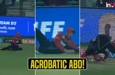 IPL 2108, DD vs RCB: AB de Villiers Takes An Acrobatic Catch To Dismiss Rishabh Pant - Watch