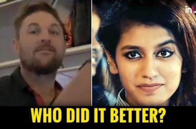 IPL 2018, RR vs RCB: Brendon McCullum Copies Winking Girl Priya Prakash, Guess Who's Better?