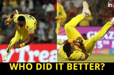 IPL 2018 SRH vs CSK, Qualifier 1: Lungi Ngidi or Dwayne Bravo – Who Took The Best Catch?