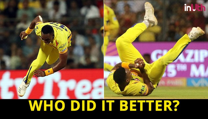IPL 2018, SRH vs CSK, Qualifier 1: Lungi Ngidi or Dwayne Bravo – Who Took The Best Catch?