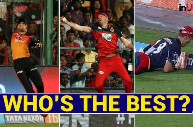 IPL 2018: AB de Villiers, Rashid Khan Or Trent Boult – Who Took The Best One-Handed Catch?