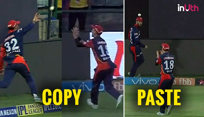 IPL 2018: Glenn Maxwell, Trent Boult Stun Mumbai Indians By Taking 2 Relay Catches In Single Match — Watch