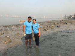 Fed Up Of A Filthy Beach In Mumbai, This Couple Started Cleaning It