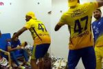 IPL 2018: Here's What Happened Inside CSK's Dressing Room Post Win Over SRH –WATCH