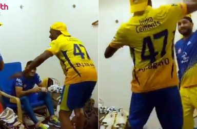 IPL 2018: Here's What Happended Inside CSK's Dressing Room Post Victory Over SRH