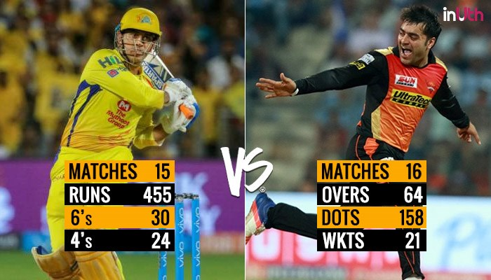 IPL 2018 Final, CSK vs SRH: MS Dhoni or Rashid Khan – Who Will Prove To Be The Match Winner?