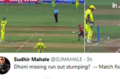 IPL 2018 Qualifier 1, SRH vs CSK: MS Dhoni Displays Poor Wicket-Keeping