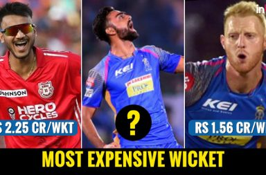 Most expensive IPL 2018 wicket, IPL 2018 wickets, IPL 2018 bowlers, IPL 2018 most expensive bowlers, Chris Woakes, Mohammed Shami, Shahbaaz Nadeem, Jaydev Unadkat, Ben Stokes, Washington Sundar, Axar Patel, Marcus Stoinis, Mitchell Johnson, Flop bowlers of IPL 2018