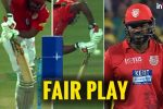 IPL 2018: Chris Gayle Shows True Sportsmanship, Straightaway Walks Off After Edging The Ball