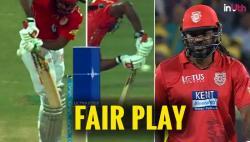 IPL 2018: Chris Gayle Shows True Sportsmanship, Straightaway Walks Off After Edging The Ball