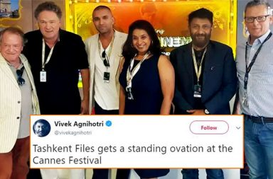 Vivek Agnihotri, Tashkent Files, Cannes 2018, Standing Ovation, Un Certain Regard Section, Manto, Nandita Das, Rohena Gera, Sir