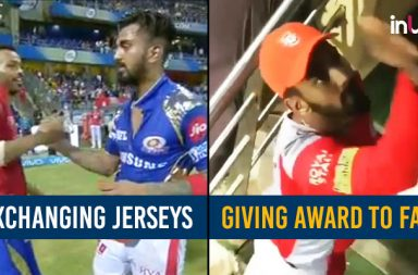IPL 2018: After Jersey Exchange, KL Rahul Gives Away 'Stylish Cricketer' Award To Fan — Watch