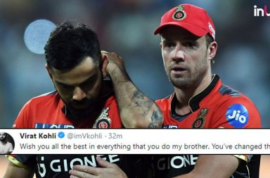 Virat Kohli, Virat Kohli Twitter, Virat Kohli on AB de Villiers retirement, May 23, Virat Kohli emotional, Virat Kohli reacts to AB de Villiers retirement, Royal Challengers Bangalore, RCB, IPL 2018