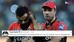Virat Kohli Finally Reacts To 'Brother' AB de Villiers' Retirement After Three Days