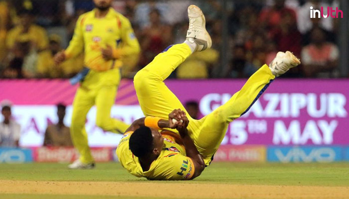 IPL 2018: Lungi Ngidi Showcases Unreal Reflexes With Caught & Bowled To Dismiss Shreevats Goswami — Watch