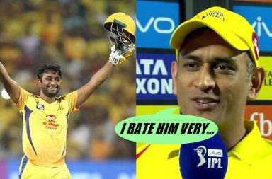 IPL 2018: MS Dhoni Rates Ambati Rayudu After His Maiden IPL Ton. Here's What He Said