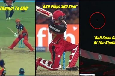 IPL 2018, RCB vs SRH: AB de Villiers Hits 105 m Six, Ball Goes Out Of The Stadium—Watch