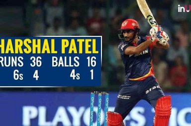 IPL 2018: Harshal Patel Hits 3 Sixes Off DJ Bravo, Twitterati Call Him Better Than Hardik Pandya