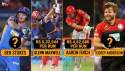 IPL 2018: 10 Overseas Batsmen Whose 1 Run Costed Lakhs To Their Franchises!