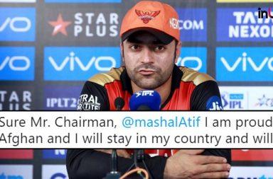 IPL 2018 Final, CSK vs SRH: 'I am a proud Afghan', Says Rashid Khan Amid Indian Citizenship Talks
