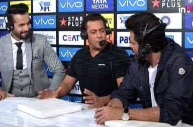 IPL 2018 Final: Salman Khan Turns Commentator, Praises MS Dhoni
