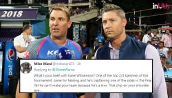 IPL 2018: Shane Warne Gets Trolled For Excluding Kane Williamson, AB de Villiers From His Team Of The Season