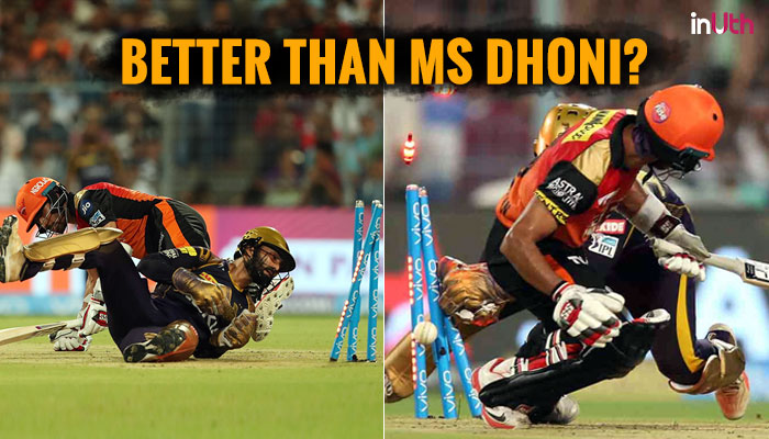 IPL 2018: Dinesh Karthik's Lightening Fast Stumping Will Give MS Dhoni A Run For His Money — Watch