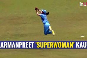 Harmanpreet Kaur's 'Superwoman' Catch Will Leave You Speechless