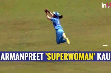 Harmanpreet Kaur's 'Superwoman' Catch Will Leave You Speechless