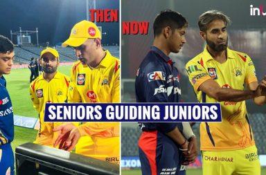 IPL 2018: Imran Tahir Shares Secret Bowling Technique With Sandeep Lamichhane, Pic Goes Viral