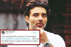 Uday Chopra's No-Filter Tweets On Karnataka Poll Results Are Lit AF