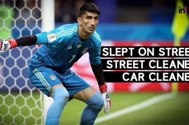 From Cleaning Cars to Bloking Ronaldo's Panelty, This Iranian Goalkepper Has An Inspiring Story
