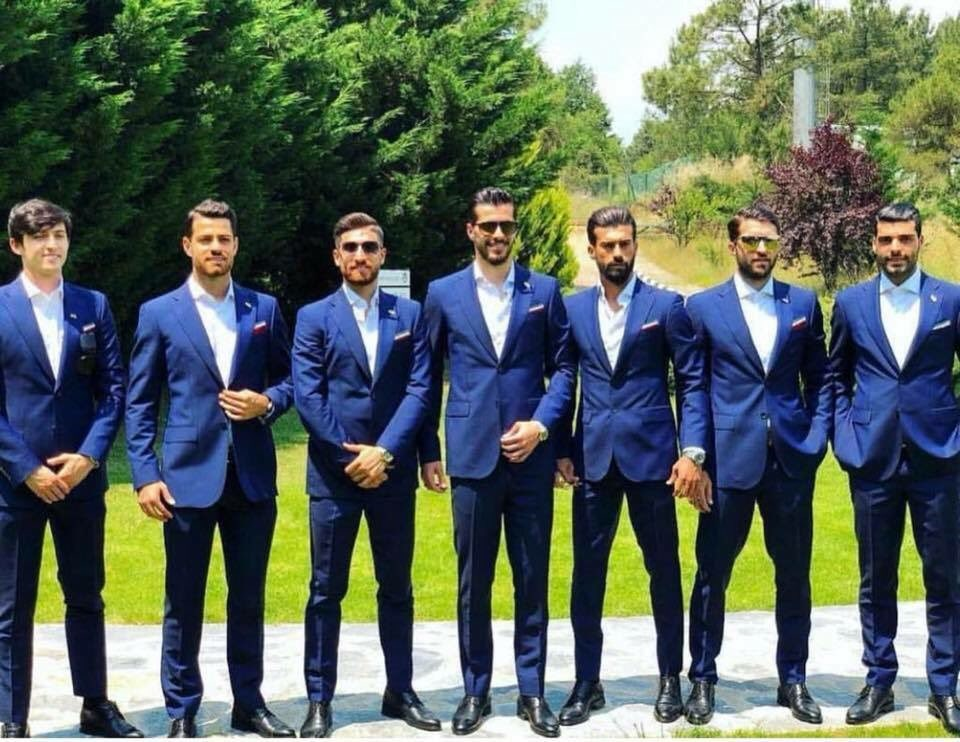 Iran's World Cup squad (PIC Twitter)