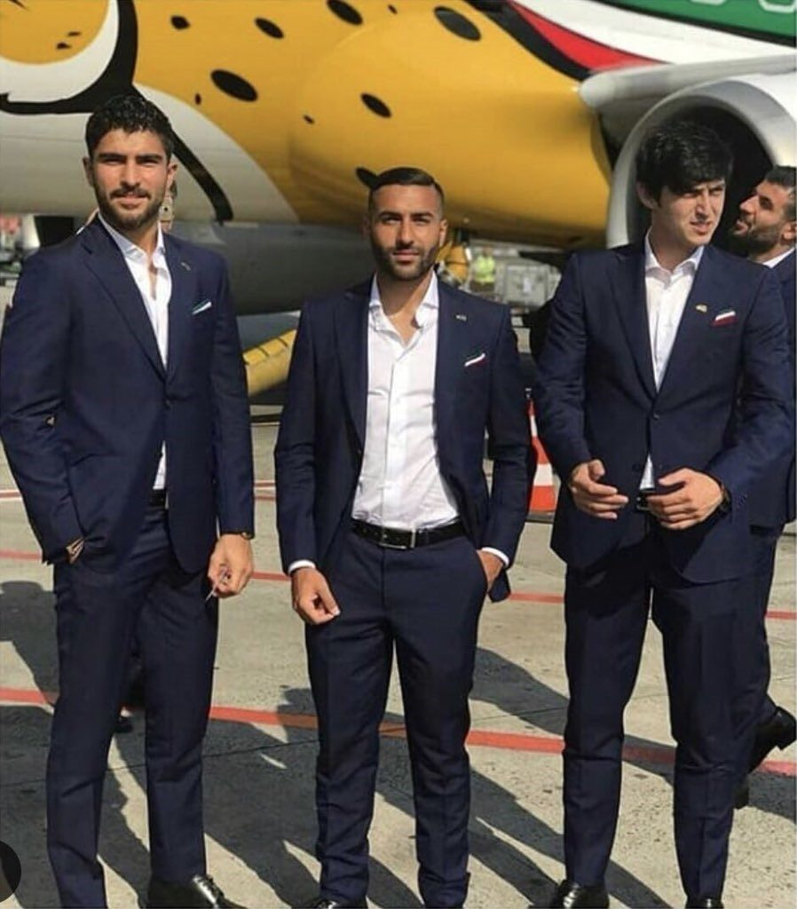 Iran's World Cup squad (PIC Twitter