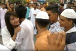 A Girl Hugs 50 Random Men On Eid Milan & We're Fixated On The Wrong Questions