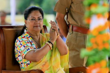 Rajasthan, Chief Minister, Vasundhara Raje
