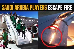 Saudi Arabia football team, Saudi Arabia Football players escape fire, Saudi Arabia vs Uruguay, Saudi Arabia vs Russia, FIFA World Cup 2018, FIFA World Cup flight catches fire, FIFA World Cup tragedies