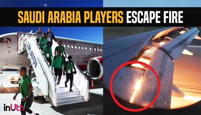 FIFA World Cup 2018: Saudi Arabia Football Team Escapes As Plane Catches Fire Mid-air — Watch