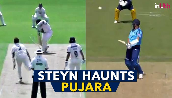 Dale Steyn Makes Cheteshwar Pujara His Bunny, Gets Him Out For Duck Twice In A Week — Watch